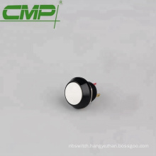 Yellow Blue White Green Orange Black Round Head 12mm SPST Metal On-Off Push Button Switch