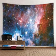 Tapeçaria estrelada Galaxy Tapeçaria Céu Noturno Tapeçaria Universo Sonhador 3D Impressão Tapeçaria para Sala de estar Quarto Casa Dormitório De