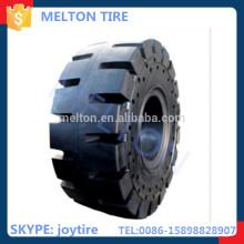 boa resistência à abrasão sólida otr pneu 29.5-25 longa vida útil