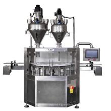 Automatic Powder Filling Machine Production Line Spices Powder Packing Filling Capping Machine