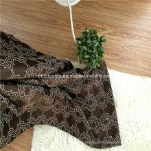 Padrão de cortina de moda moderna em cortina de janela jacquard