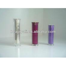 Botella cosmética acrílica de plástico acrílico