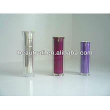 plastic acrylic airless cosmetic jar and bottle