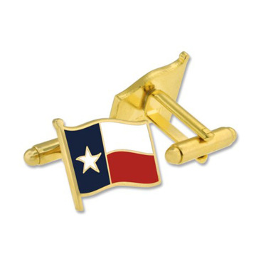 Texas State Flag Map Cufflinks Perfect for Men