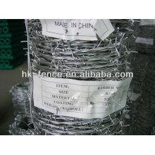 Venta caliente fabricación de longitud del alambre de púas por rollo para la venta