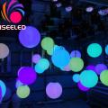 Winches Led Pixel kinetische Ballskulptur
