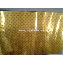 Color coated aluminum foil paper for ice cream /chocolate wrapping paper