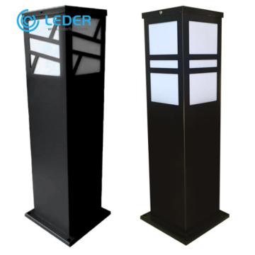 LEDER Borne d'éclairage LED moderne