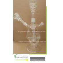 Vidrio Transparente Shisha árabe Narguile Buena Calidad