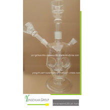 Vidro Transparente Shisha árabe Hookah boa qualidade