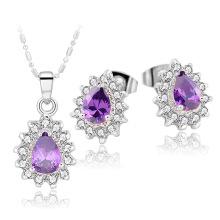 Charm collier avec boucle d'oreille / Collier bijoux