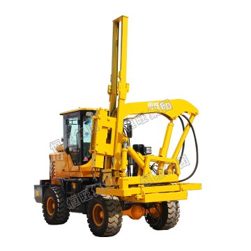 Photovoltaic Hammer Guardrail Post Pile Piling Driver
