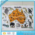 38x63cm 100% cotton plain linen tea towel printing