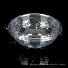 460ml Food Grade PET Runde Einweg-Plastikbox aus klarem Kunststoff