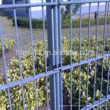 high tensile 656 or 868 double wire hot dipped galvanized welded mesh fence