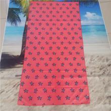 Big square custom digital print sports towel