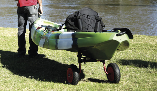Sit-On-Top Kayak cart