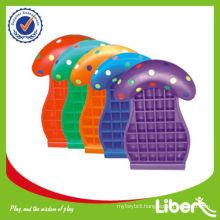Plastic Mushroom Toy Shelf for Children LE-SK016