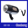 3LED Solar Handkurbel Taschenlampe