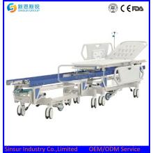 Carro de endoscopio Manual de transporte Conexión de camilla de hospital
