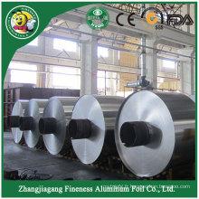 Excellente qualité usine de papier d'aluminium de papier d'aluminium de petit pain d'arrivée