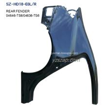 Steel Body Autoparts Honda 2012-2016 CIVIC Rear Fender