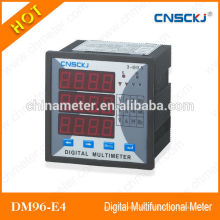 DM96-E4 Medidor digital multifunción Pantalla LED