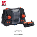 PK CX-10 nano 2.4G 4CH foldable drone mini selfie drone with 720P wifi camera 3D flip for gift kids SJY-XT-2