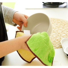Super Absorbent Warp Knitted Microfiber Cleaning Towel