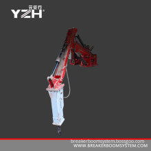 Pedestal Boom Breaker Systems For Gyratory Crusher