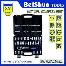 "32PCS 1/2"" Socket Set for Car Repair"
