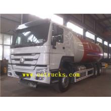 Camions-citernes à gaz à gaz circulant 24 Gb CBG avec distributeur mobile