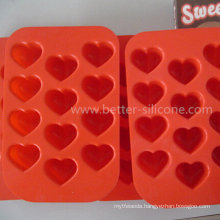 Food Standard Silicone Chocolate Tray