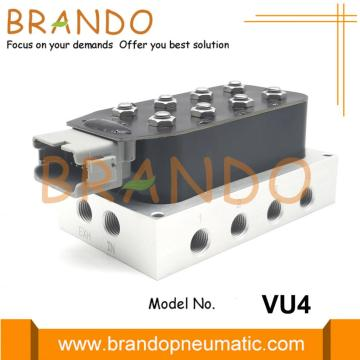 1/4 '' VU4 Accuair Type Solenoid Valve Manifold Unit