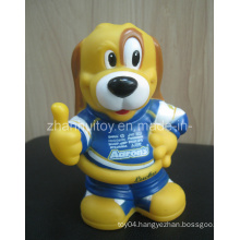 Lucky Dog Vinyl Figure Saving Bank