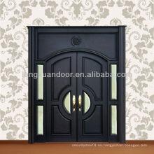 Villa Mian Entey puerta de madera doble villa mian puerta puerta de madera exterior de la villa
