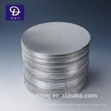 discos finos de aluminio