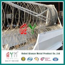 Cross Razor Wire Wall/ Rapid Moving Razor Wall