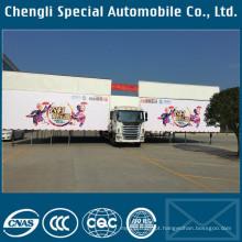 Caminhão de Jianghuai 4x2 JAC marca LHD palco ao ar livre