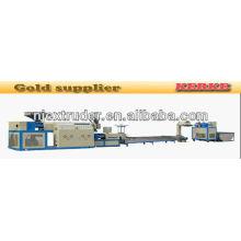 90-90 Máquina de extrusão de plástico de dois furos single-screw / extrusora de granulação