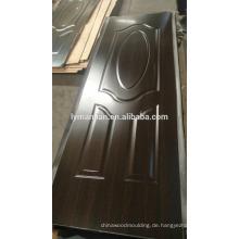 Dunkle Farbe Dekoration schnitzt Tür Design Gate Board Haut