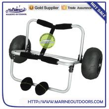 Nouveaux produits, produits de vente à chaud porte-kayak pliable en Chine avec roue de ballon