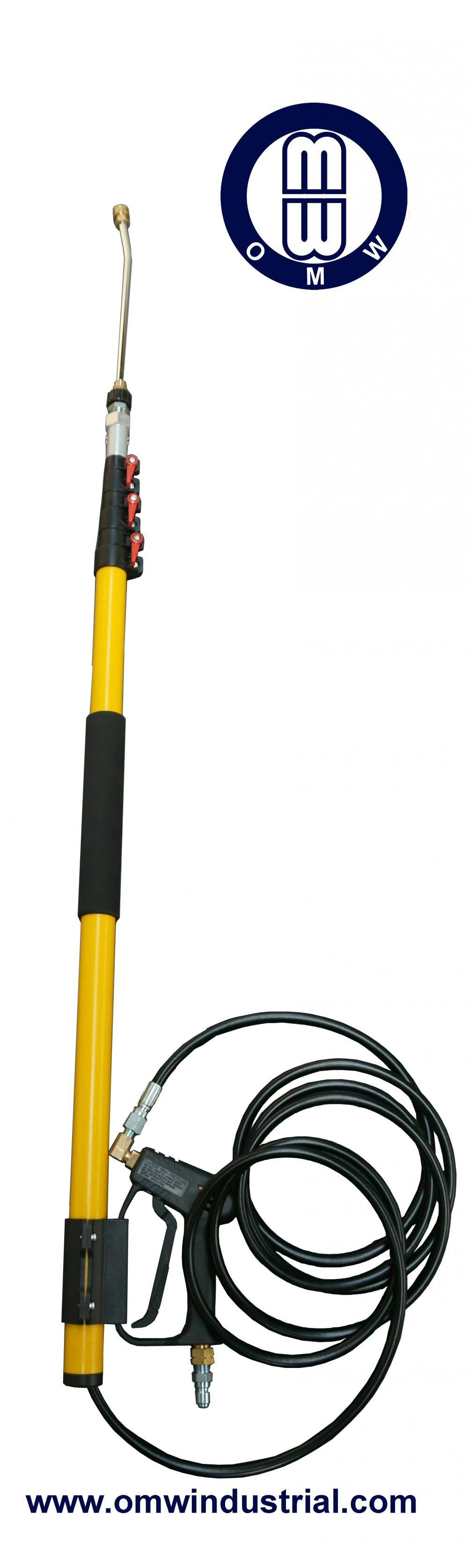 12 ft Hochdruckreiniger Telescoping Home Use