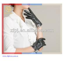 Gants de polissage femme en peau de mouton