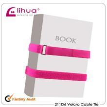 100% nylon velcro book straps