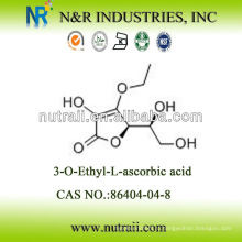CAS # 86404-04-8 3-O-этил-L-аскорбиновая кислота