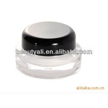 5g 15g 20g 30g 50g 100g 200g cosméticos ronda negro Cap acrílico cosméticos jarra al por mayor