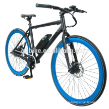 180W Cheapest Aluminium Electric Fixed Gear Bicycle