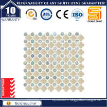 Серый мраморный камень / стеклянная мозаика для бассейна Sce0230