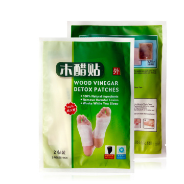 Penjualan terbaik 100% Natural Herbal Detox Foot Patch